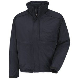 The North Face Jacket - Mens Winter Parka - Navy